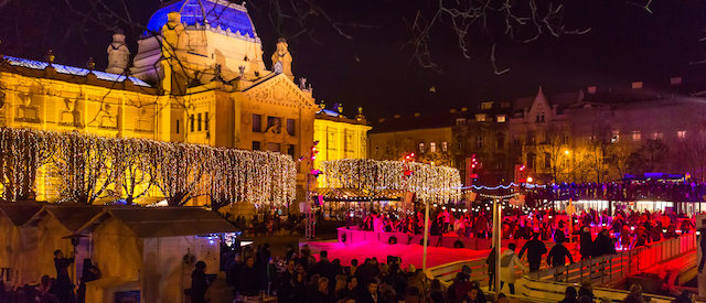 Zagreb, Croatia at Christmas Time (Photo: Shutterstock)