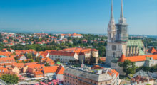 Enjoy the capital of Croatia in Zagreb. Travelers will find a city full of stunning architecture and a growing food and craft beer scene.  (Photo: Shutterstock)