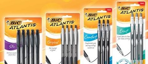 Normally $13, 12-packs of Atlantis pens are 61 percent off today (Photo via Amazon)