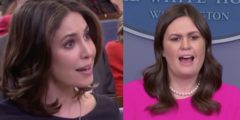 Stop And Listen To Sarah Sanders Respond When Asked If Trump Favors 'White' Immigrants Over 'Black'