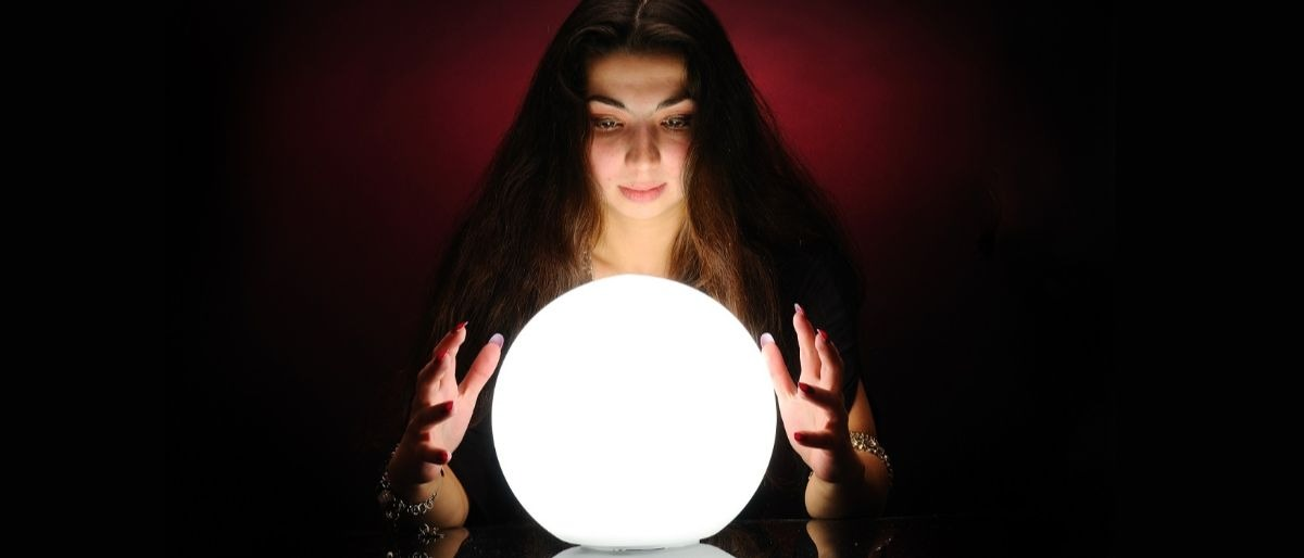 crystal ball fortune teller Shutterstock/Sergey Mironov