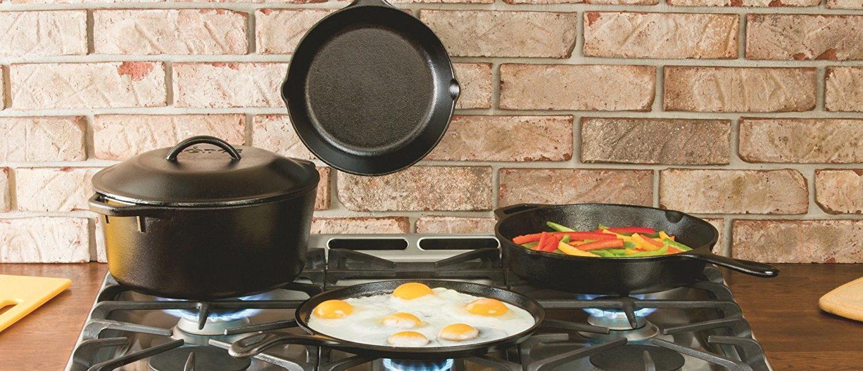 Cast iron (Photo via Amazon)