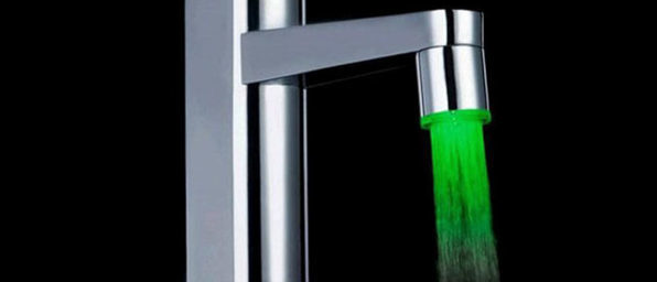 Normally $13, this light-up faucet attachment is 15 percent off