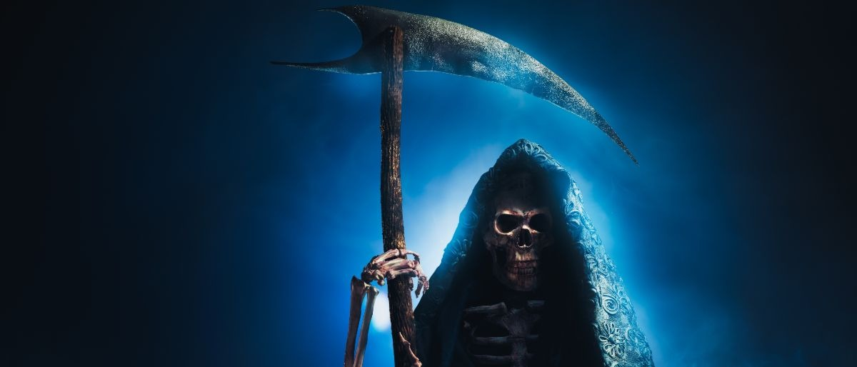 grim reaper Shutterstock/Fer Gregory
