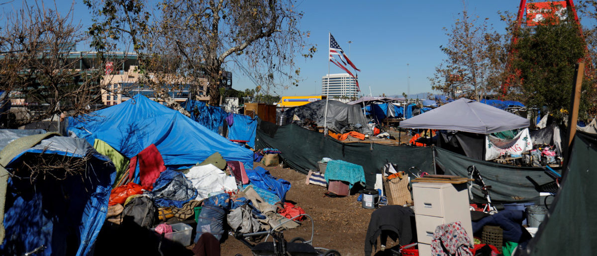 Homeless Getting Removed From Camp The Daily Caller