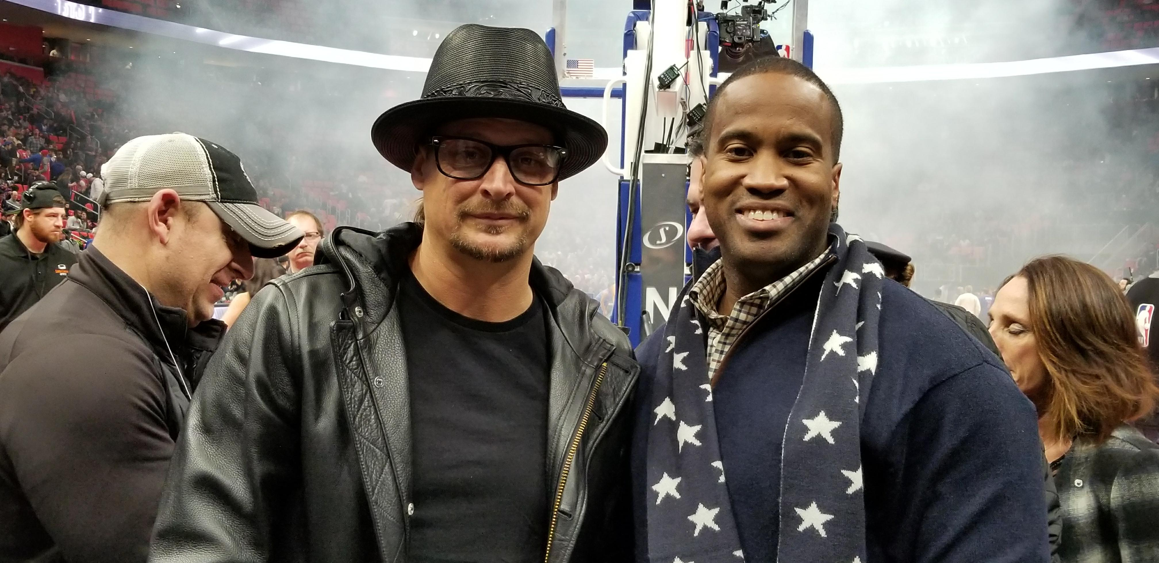 John James Kid Rock/Photo Obtained By The Daily Caller News Foundation