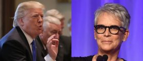 After Hawaii Missile Alert Error, Jamie Lee Curtis Has A Nuclear Meltdown — On Trump