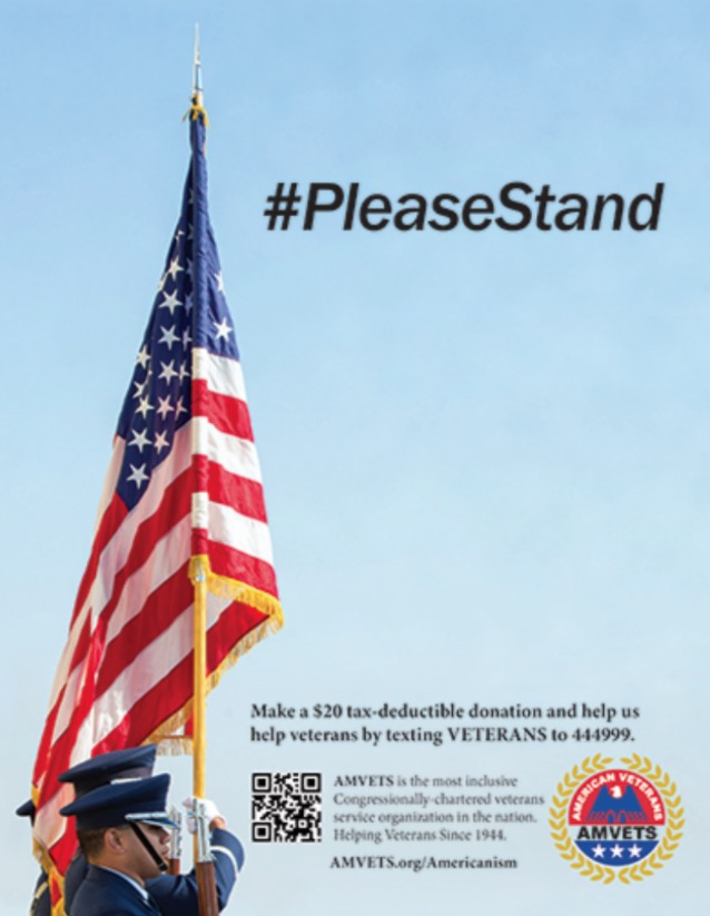 National Football League rejects military veterans' 'Please Stand' Super Bowl program ad