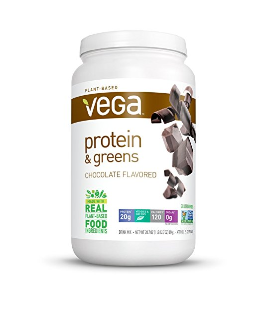 Normally $50, this protein and greens powder is 69 percent off today (Photo via Amazon)