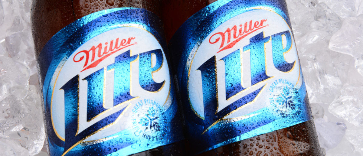 Miller Lite (Credit: Shutterstock)
