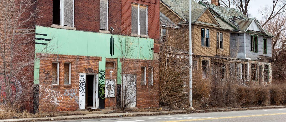 urban decay Detroit Shutterstock/alisafarov