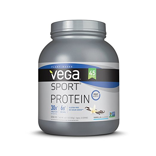 Normally $90, this sport protein powder is 53 percent off today (Photo via Amazon)