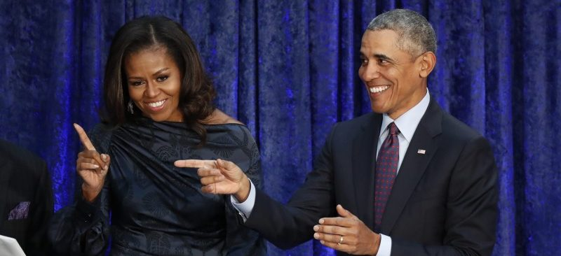Obama Reportedly Wants To Beat Michelle's Book Sales