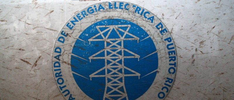 The logo of the Puerto Rico Electric Power Authority (PREPA) is seen in Dorado, Puerto Rico January 22, 2018. REUTERS/Alvin Baez