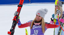 Mikaela Shiffrin, slalom skier --- Shiffrin won the gold last time around and is favored to repeat this year. The most impressive aspect of her victory last year was that she was the youngest Olympian ever to win the event at a mere 18 years old. Many are saying she is the best skier in the world right now, and some contend she is the best ever. (Photo: Getty)