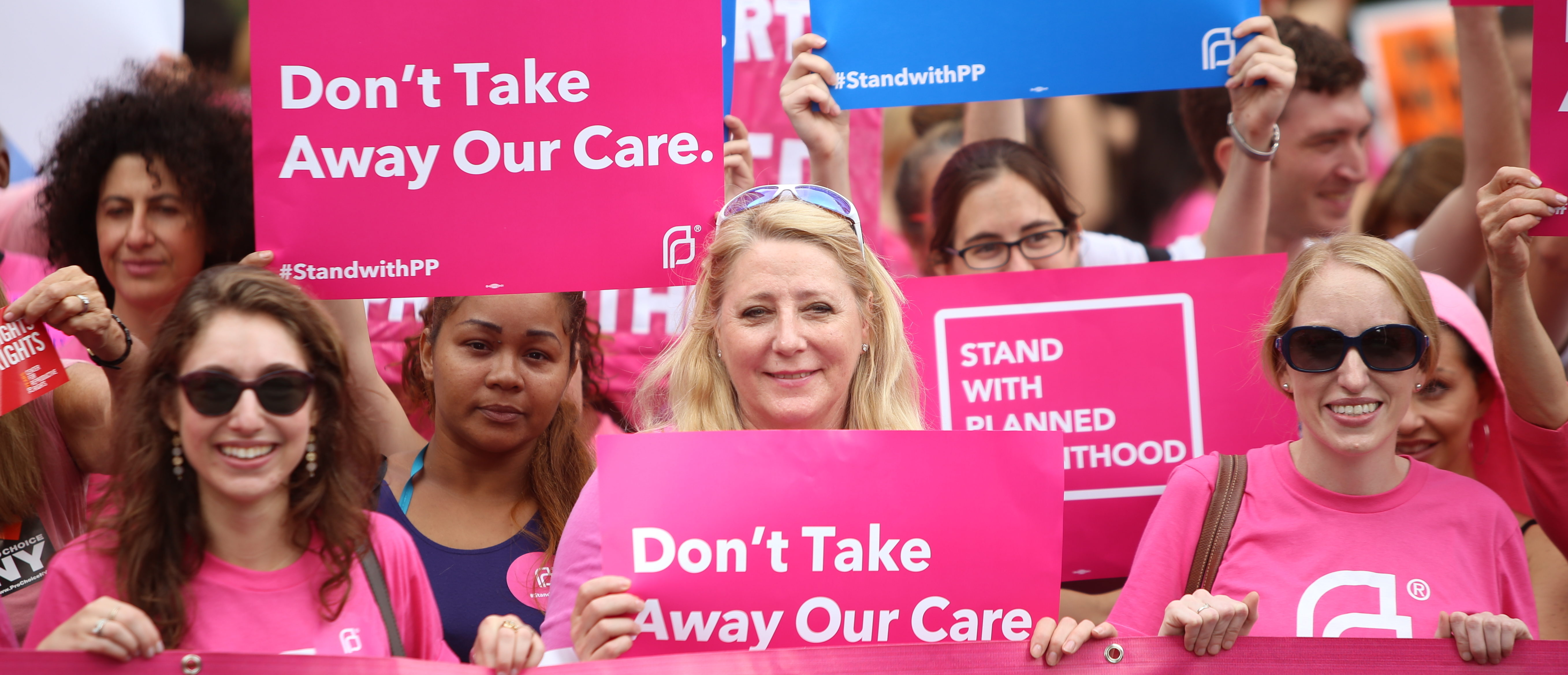 Activists and directors of Planned Parenthood, NYC. (Shutterstock/A. Katz)