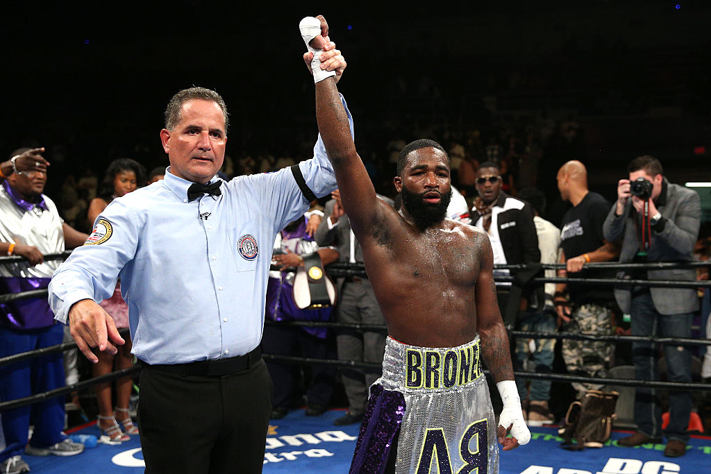 Boxer Adrien Broner Arrested for Sexual Battery