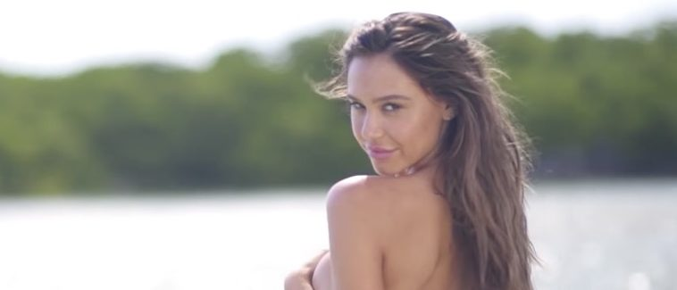 a30165aa3e8b1 Go Behind The Scenes Of Alexis Ren s Insane SI Swimsuit Shoot