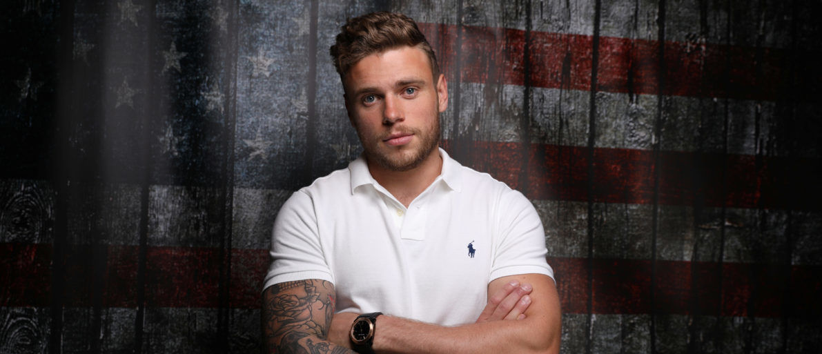 Freestyle skier Gus Kenworthy poses for a portrait at the U.S. Olympic Committee Media Summit in Park City, Utah, U.S. September 25, 2017. Kenworthy listens to pop music while he trains. REUTERS/Lucy Nicholson