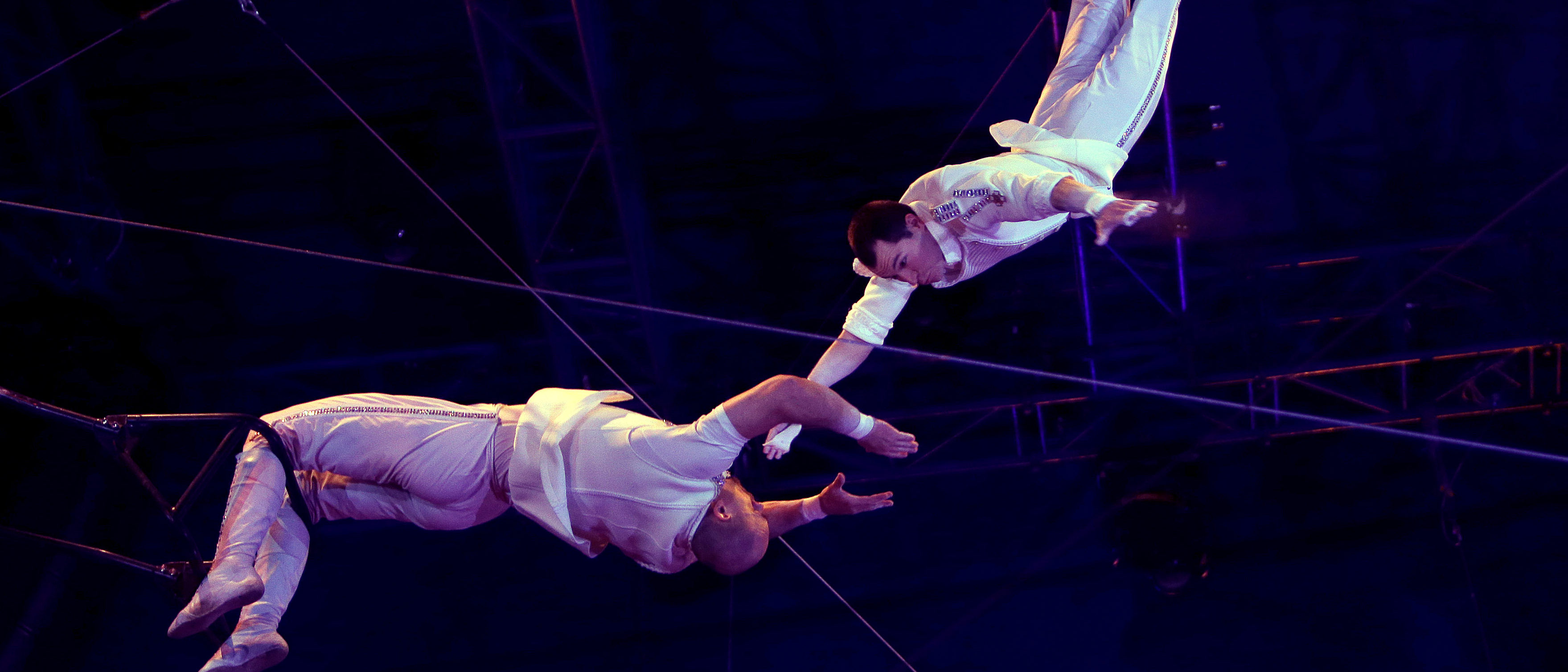 Artists of The Heroes Troupe perform during the Gala evening of the 42th Monte-Carlo International Circus Festival in Monaco, January 23, 2018. Picture taken January 23, 2018. REUTERS/Claude Paris/Pool