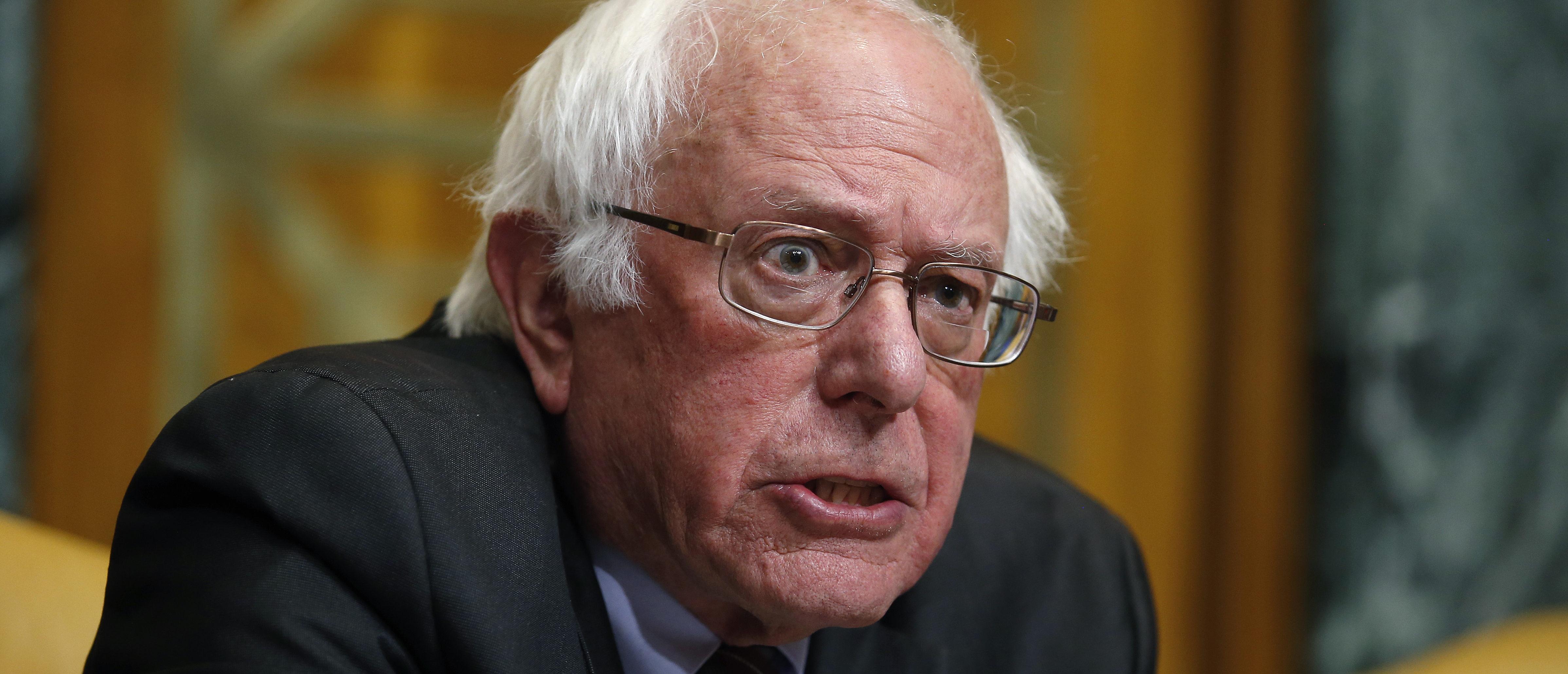 U.S. Senator Bernie Sanders (I-VT) speaks