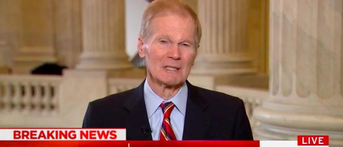 Sen. Bill Nelson (Photo: Screenshot/MSNBC)