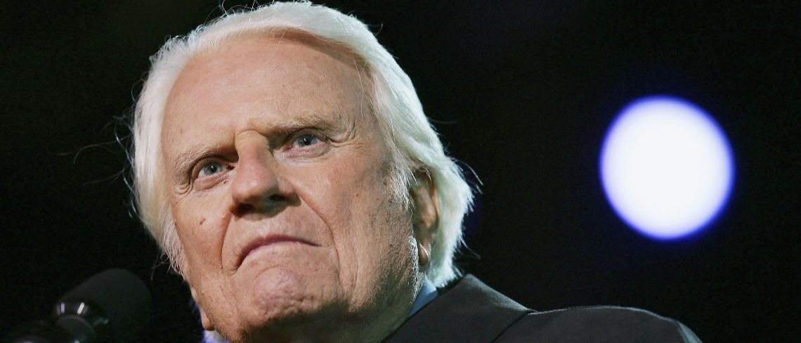 Billy Graham Getty Images/David McNew