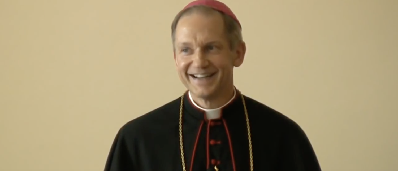 Bishop Thomas J. Paprocki speaks in 2010. (YouTube screenshot/The State Journal-Register)