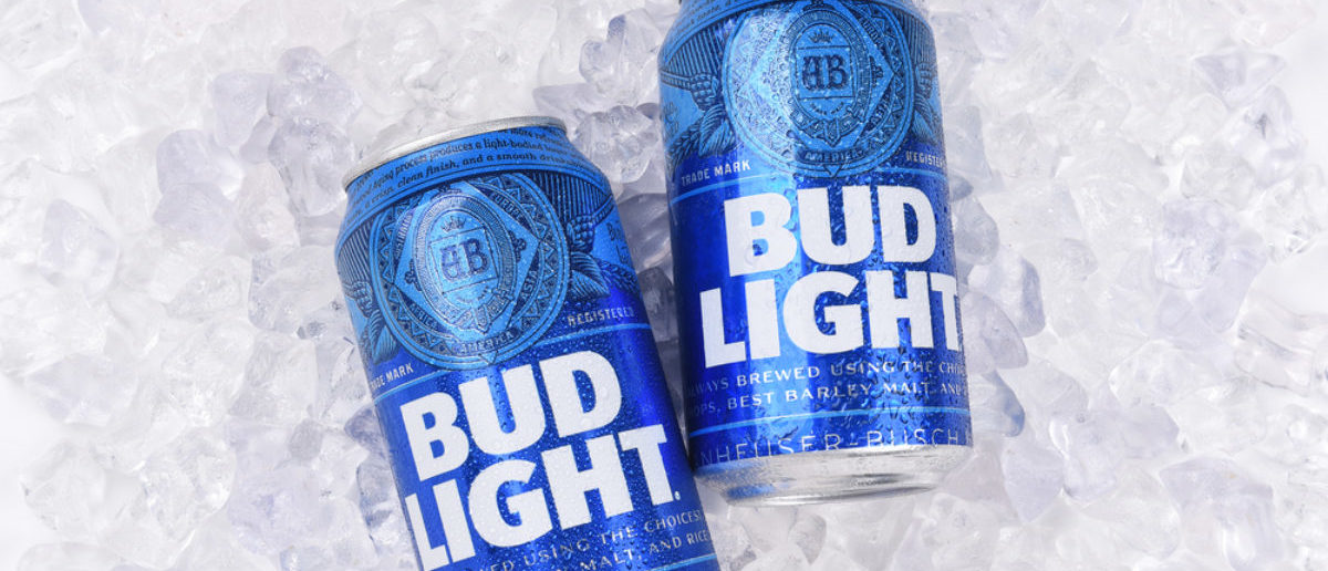 Bud Light (Credit: Shutterstock)