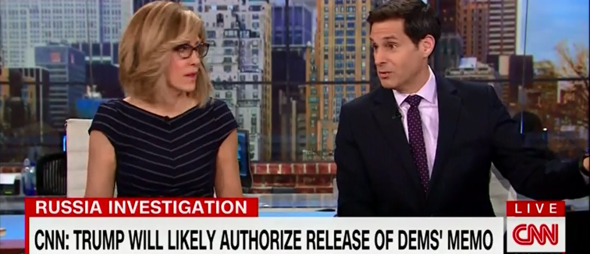 CNN hosts try desperately to deflect from story about Obama Wiretapping Trump campaign - New Day 2-9-18 (Screenshot/CNN)