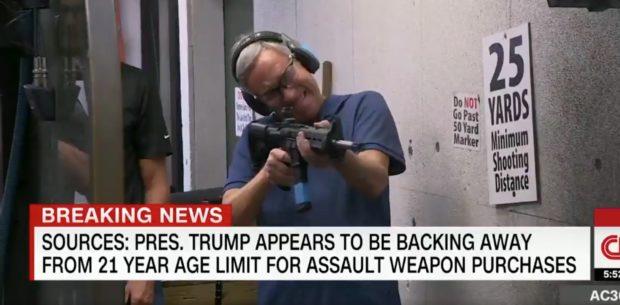 CNN AR15 (Credit: Screenshot/YouTube AC360)