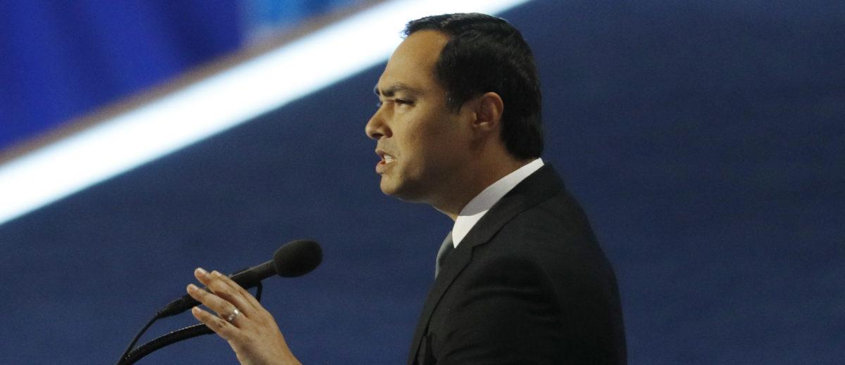 U.S. Representative Joaquin Castro (D-TX) addresses the Democratic National Convention in Philadelphia, Pennsylvania, U.S. July 28, 2016. REUTERS/Scott Audette