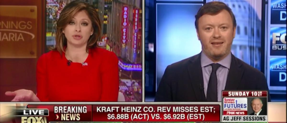 Chris Bedford Talks Bruce Ohr Of DOJ on Fox Business 2-16-18