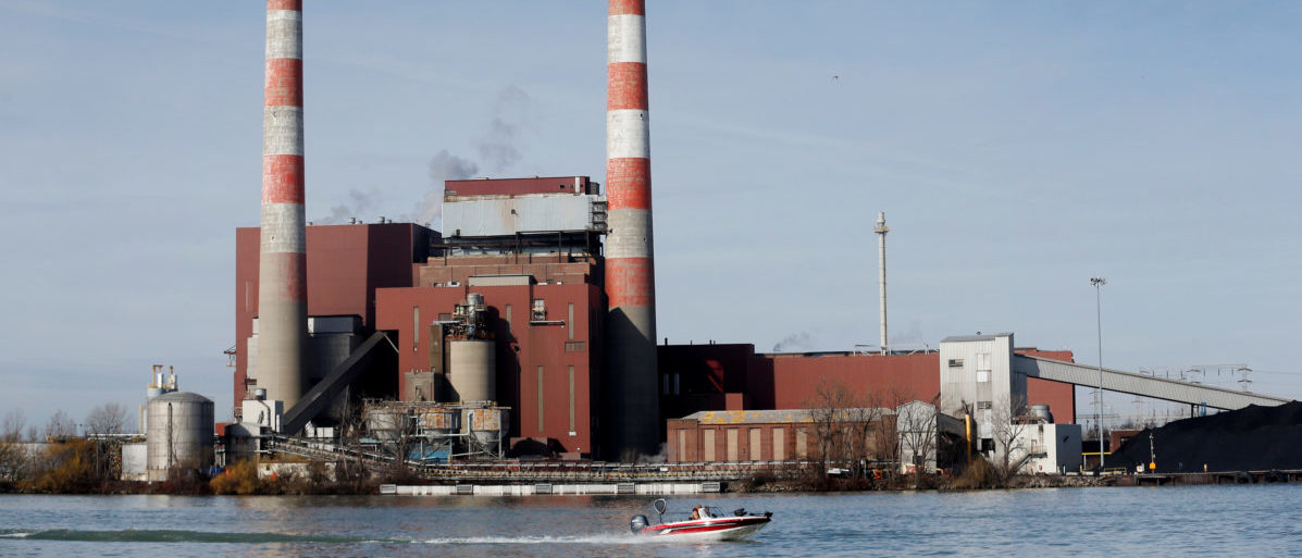 The Trenton Channel Power Plant, a coal-fired electricity plant operated by DTE Energy
