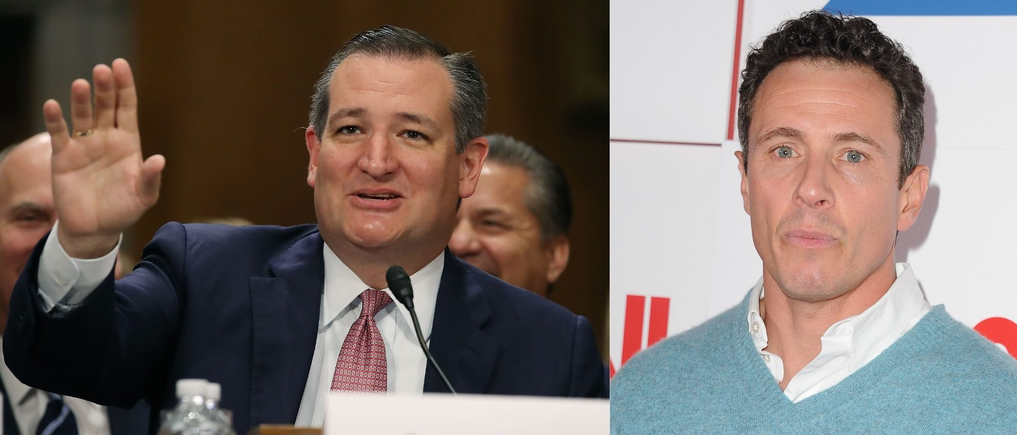 Ted Cruz, Chris Cuomo (Getty Images)