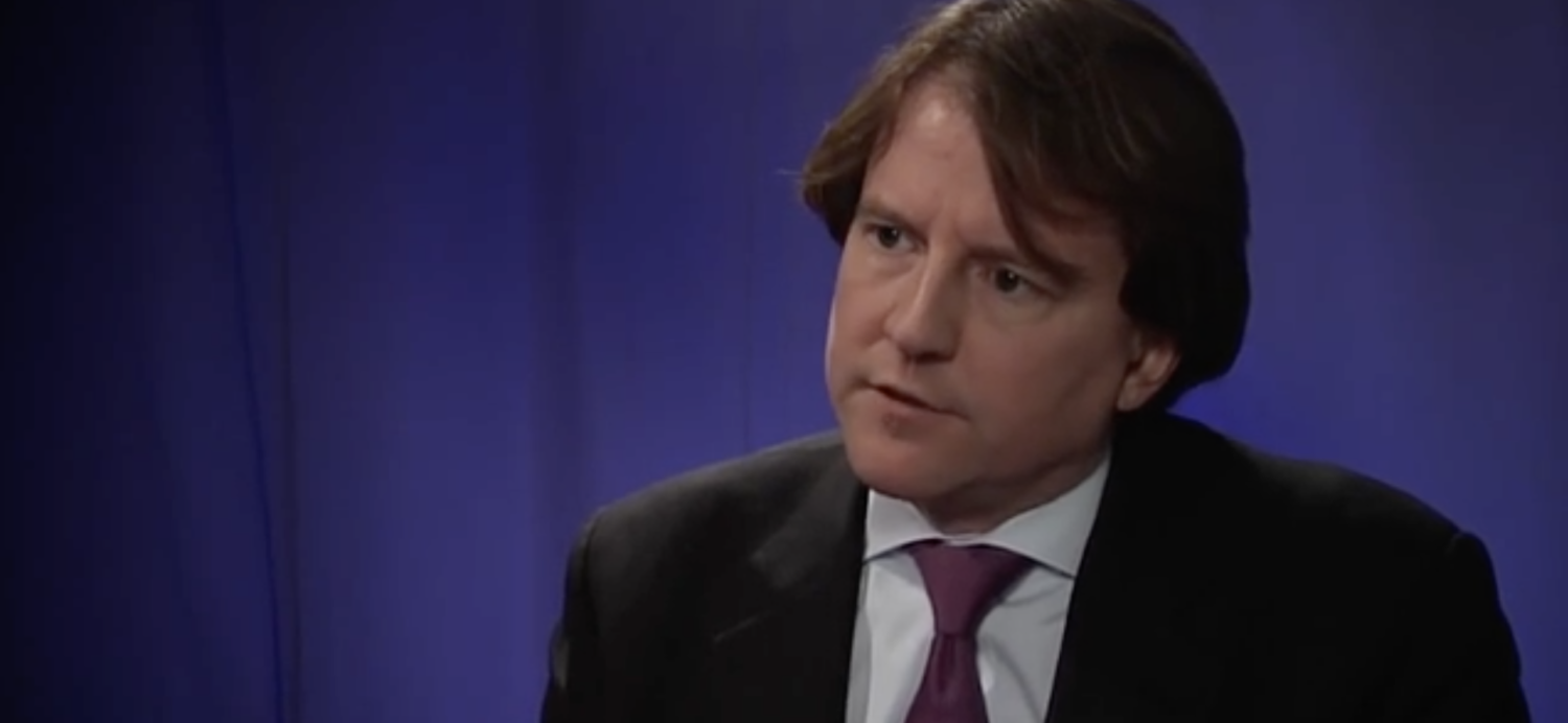 Don McGahn talks about the Citizens United decision at the Cato Institute in 2013. (YouTube screenshot/Cato Institute)