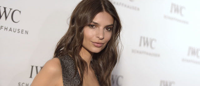 BEVERLY HILLS, CA - DECEMBER 01: Model Emily Ratajkowski attends the IWC Schaffhausen celebration for the Rodeo Drive Grand Opening at IWC Shaffhausen on December 1, 2015 in Beverly Hills, California. (Photo by Jason Kempin/Getty Images)