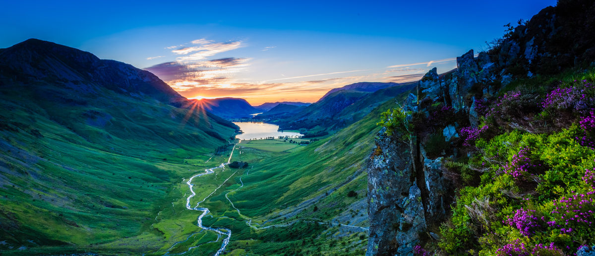 Tranquil Sunset in Buttermere valley, The Lake District, Cumbria, England Shutterstock/ Michael Conrad