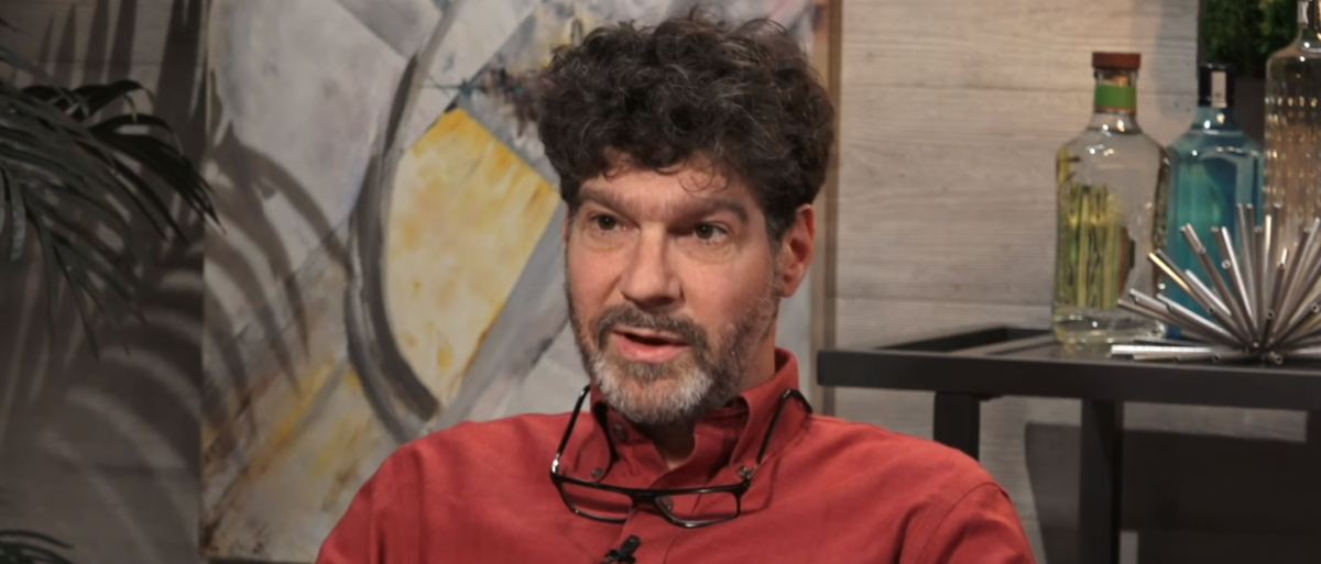 Former Evergreen State professor Bret Weinstein gets interviewed by Dave Rubin on The Rubin Report. (Photo Credit: YouTube/The Rubin Report)