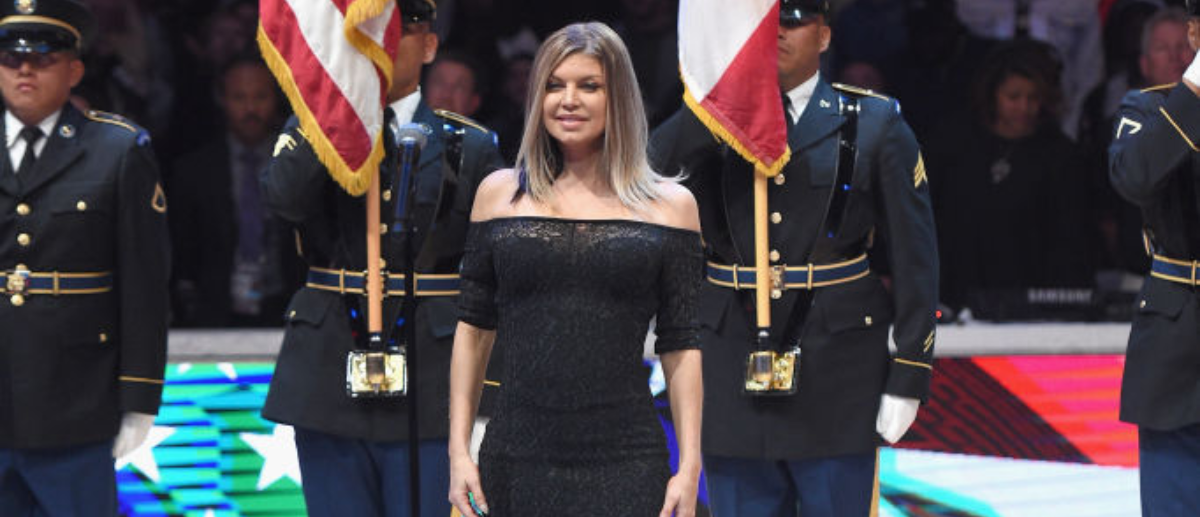 Fergie's Anthem Sparks Liberal Debate | The Daily Caller Fergie National Anthem