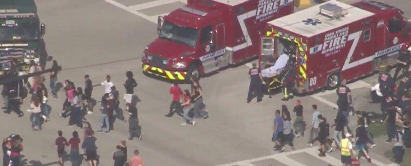 Florida School Shooting (Screen shot/ABC15)