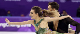 French Ice Dancer Suffers 'Nightmare' Of A Wardrobe Malfunction During Competition
