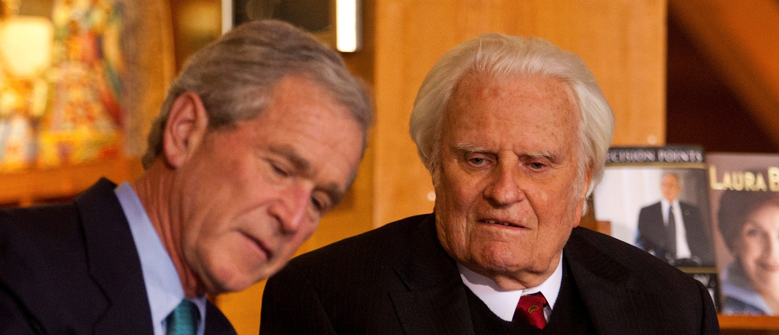 George W. Bush's Tribute To Billy Graham | The Daily Caller