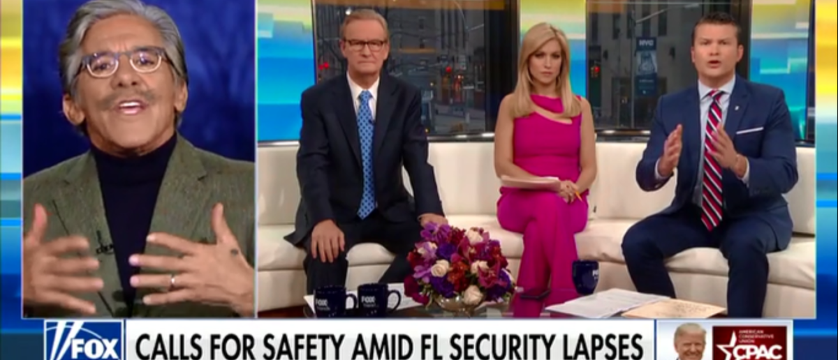 Geraldo Rivera Thinks Trump Will Do More To Curb Gun Violence Than Obama Ever Did - Fox & Friends 2-23-18 (Screenshot/Fox News)
