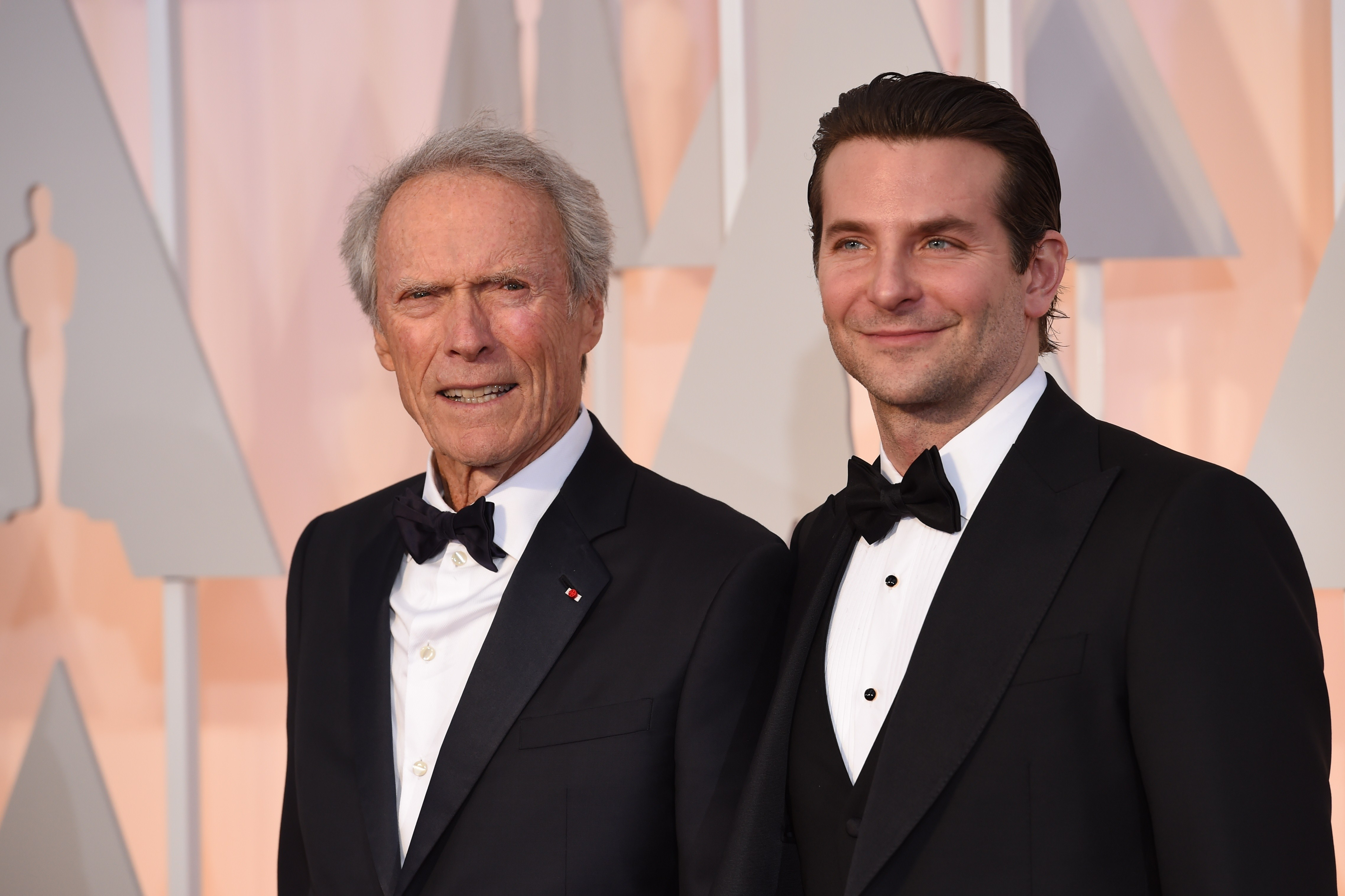 """American Sniper."" Clint Eastwood directed this instant classic with Bradley Cooper, earning them each Oscar nominations. (Photo: MARK RALSTON/AFP/Getty Images)"