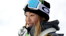 Chloe Kim, snowboarder --- Kim is competing in her first Olympics at the ripe age of 17. She won 3 gold medals at the winter X Games before her 16th birthday and would have competed in Sochi but was not old enough (13 at the time). If she medals, she will be the youngest American to win an Olympic medal in snowboarding. Even more exciting is the fact that her parents emigrated from South Korea to the United States. As fate would have it, she will get to compete in her first Olympics on her parents' home turf. She will surely put on a good show. (Photo: Getty)