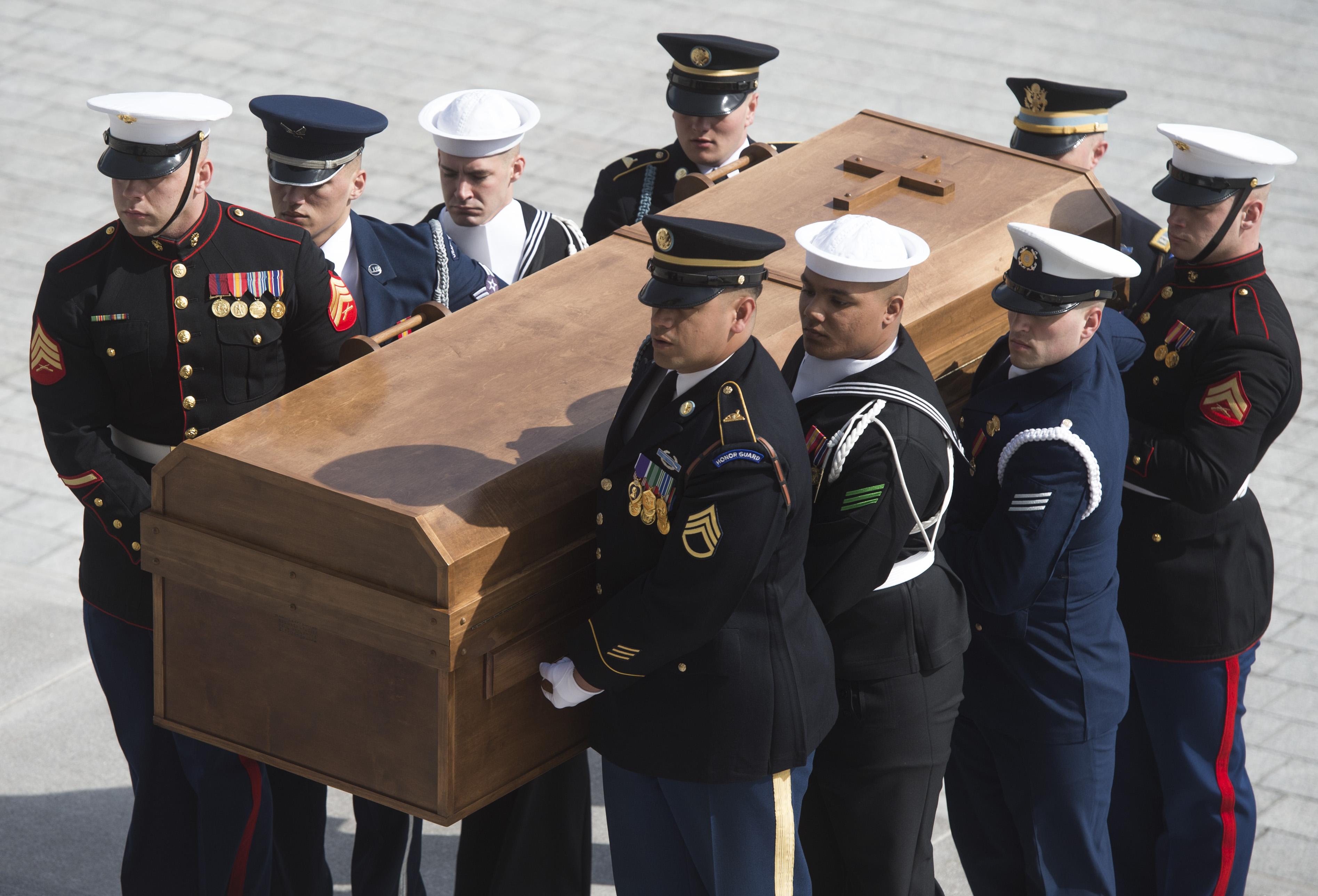 President Trump Attends Rev. Billy Graham's Memorial