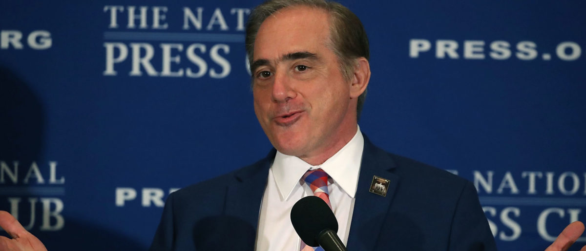 WASHINGTON, DC - NOVEMBER 06: Veterans Affairs Secretary David Shulkin speaks about issues regarding the VA, during a luncheon at the National Press Club, on November 6, 2017 in Washington, DC. (Photo by Mark Wilson/Getty Images)
