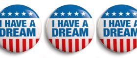 I Have A Dream collage Shutterstock/PhotoStockImage