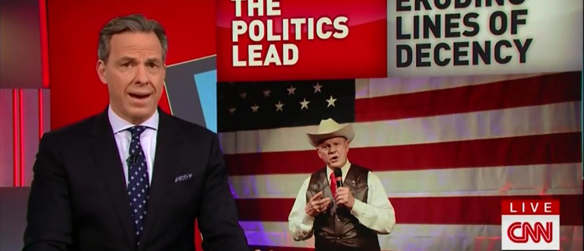 Jake Tapper Slams WH on CNN's The Lead 2-7-18 (Screenshot/CNN)